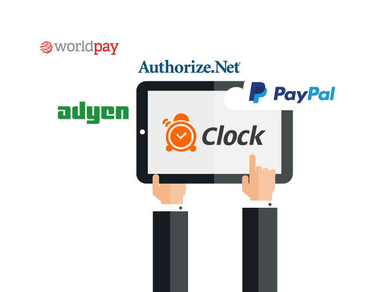 Clock PMS Suite  Suite integrated payments - PayPal, WorldPay and etc.